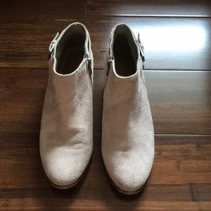 [ Sam Edelman ] Womens Petal Suede Ankle Boot